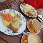 our brekky