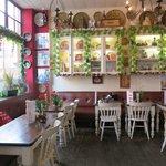quaint lil coffee shop