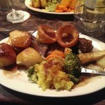 Well what can I say Sunday lunch brilliant good food and drink,
