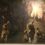 Tintoretto's Presentation of the Virgin Mary
