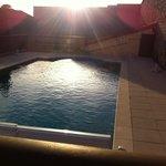 Vur sur la piscine