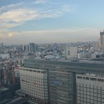 View from room(Takashimaya in the lower left corner)