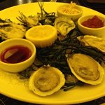 Great oysters ; great presentation
