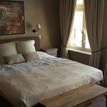 Beautiful large bed at B&B1669