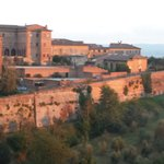'school' is just inside the Siena gate...