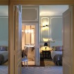 Deluxe room in an old part (château) of the hotel