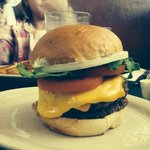 The Convention Grill double cheese burger....Yummy!!!