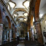 Navata centrale della Chiesa di Santo Stefano