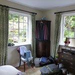 Gästezimmer im Erdgeschoss - mit Gartenblick