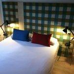 Bedroom in two-bedroom suite