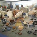 Reperti archeologici alla Stazione Museo metro 1