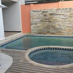 Hidromassagem + piscina
