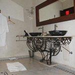 Une salle de bain vraiment pour deux