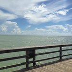 View from the Naples pier