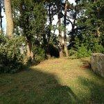 Le parc de la Villa Bel Ange