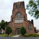 Shrewsbury Abbey exterior