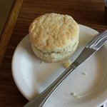 Homemade biscuit.
