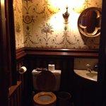 Downstairs hall bathroom