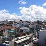 Vista do terraço - Bairro de Itapuã