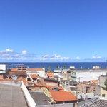 Vista do terraço - Itapuã e orla