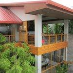 Veranda dining area