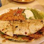 Habanero Quesadilla @ Habaneros Mexican Sports Bar, 11151 Ocean Hwy, Pawleys Island, SC