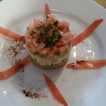 Crab and Avacado starter