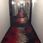 2nd floor hallway over looks lobby