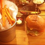 Korean Burger - £10.50