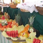 Amazing fruit presentation!