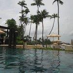 Infinity pool - next to the beach