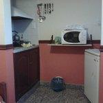 Zona de cocina compartida con el Comedor