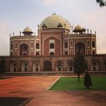 Humayun's Tomb - walking distance.