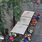 vista desde la habitacion hacia la plaza san agustin