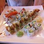 Lobster roll, Eel roll, California roll