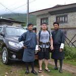 with Wind Horse team