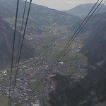 Mayrhofen dall'alto