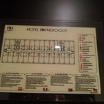 mapa emerencias hotel NH
