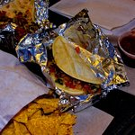 Tacos, chips & salsa