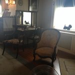 FDR's bedroom - chair for Fala