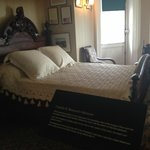 FDR's bed
