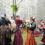 dançarinas do festival
