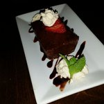 The dessert was second - only to the service. Had reservations about this submission but the Wor