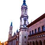 A unos pasos de la Basílica del Pilar
