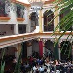 Hotel Ciudad Real, interior. Restaurante principal.
