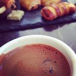 Greek coffee on the terrace