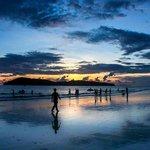 The beautiful sunset of cenang