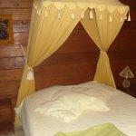 chambre du bungalow Alamanda