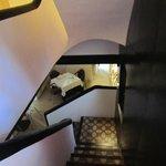 Desde la escalera