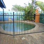 Built in pool